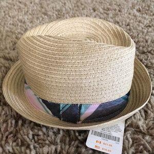 Gymboree Boy's Straw Fedora Hat